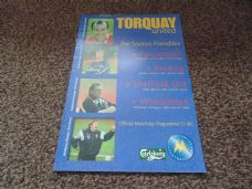 Torquay United - 2000/01 Friendlies